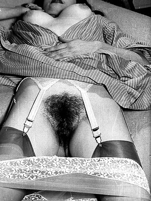 British 1960s solos interracial vintage porn