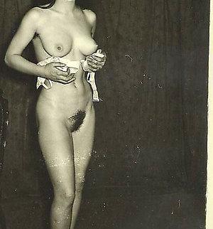 classic porn stars ladies in vintage erotic pictures