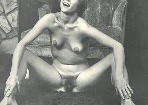 Rare vintage swinger porn set with hairy nasty sluts