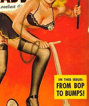 Several erotic lingerie vintage erotica magazine cover babes naked