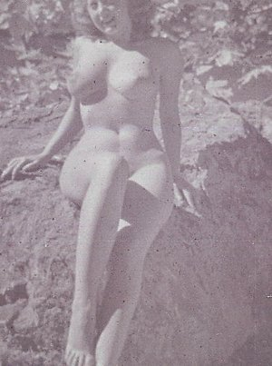 Sexy vintage ladies showing nude body in the open anothermag.com